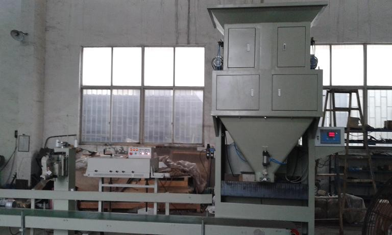 Dual Hopper Gravel / Stone Automatic Weighing And Bagging Machine