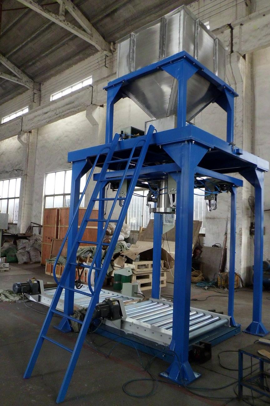 Customized Big Bag Filling Machine , Block / Cement Bagging Plant