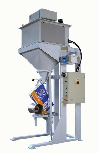Electric Granular / Pellet Bagging Equipment For Kraft Valve Bags
