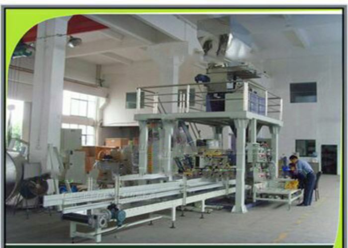 Fully Automatic Weighting Packaging Granular Fertilizer Pellet Packing Machine