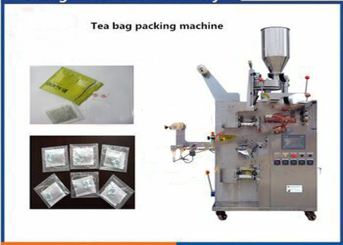 3 / 4 Sides Seal Automatic Tea Bag Packing Machine With PLC Control System