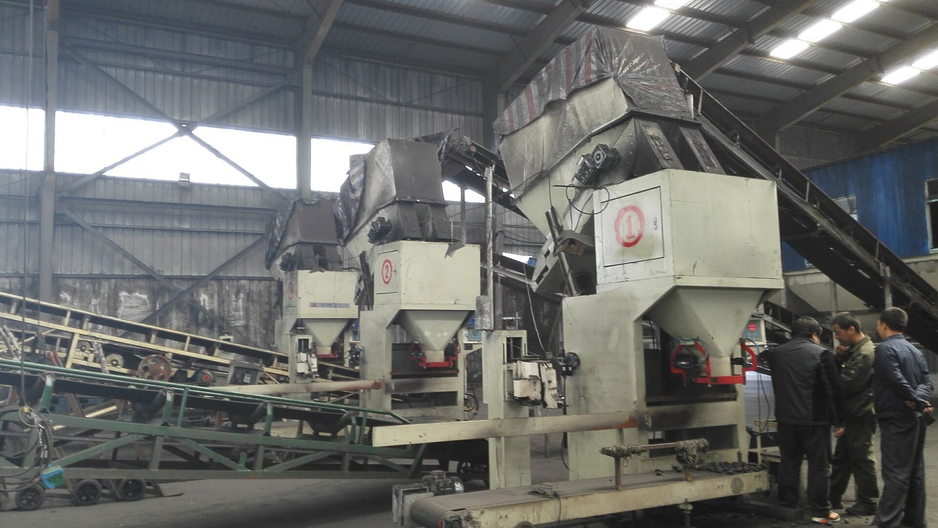 Good Quality 30T/H Coal Bagging Machine; Charcoal Bagger 10-50kg support, 500-600bags/hour