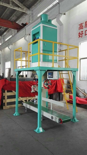 50 - 100kg Bean Packing Pellet Bagging Equipment For Coffee Bean / Soya Bean