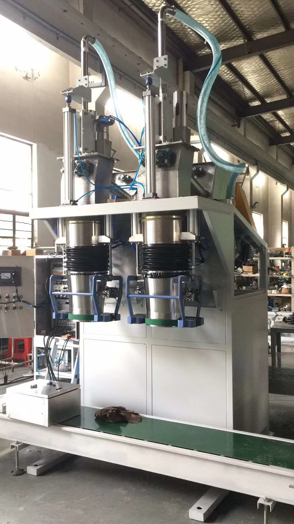 Pneumatic Drive Light 8kW 50kg Powder Bagging Machine
