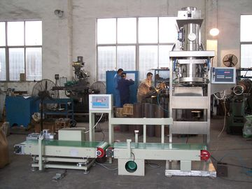 Powder Packing Semi Automatic Bagging Machine Compressed Air 0.4 m3 / Hour