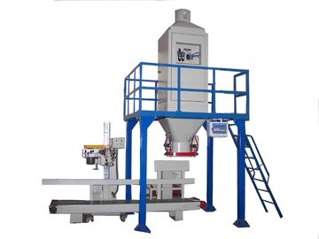 Professional Grain / Wood Pellet Bagger With Electric Control Cabinet