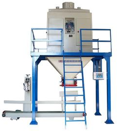 Dual Hopper Weighing Feed Bagger Automatic Packaging Machines 1.5kW