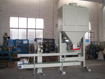 Dual Hopper Net Weighing Malt / Coffee Bean Pellet Bagger 1.5kW
