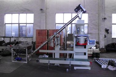 High Corrosive Stainless Steel Powder Feed Bagging Machine / Fertilizer Bagger