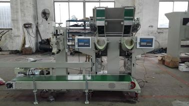 Professional Gravel / Marble Semi Automatic Bagging Machine With Conveyor Belt
