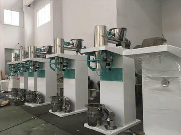 Pneumatic Drive Semi Automatic Bagging Machine High Speed 150 - 200 Bags Per Hour