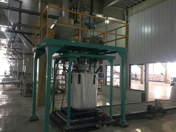 China Protein Powder Flour Big Bag Filling Machine . Starch FIBC Bag Packing Machine factory