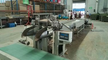 Onion / Garic Automatic Potato Bagger Plastic Bag Weighing And Filling Machine