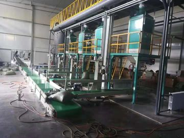 Corn / Malt / Soybean Meal Automatic Weighing And Bagging Machine 1.5kW Power