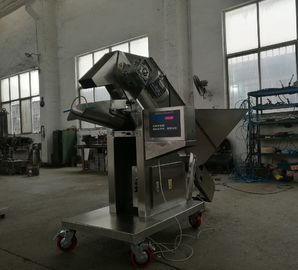 300-400 Bags / Hour Potato Packing Machine , Manual Potato Weigher Scale