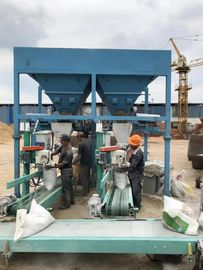 China Semi - Automatic Gravel Bagging Machine Sand Packing Machine 1500-1800 Bags Per Hour factory