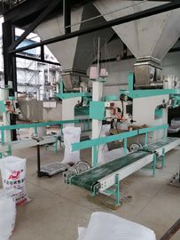 400bags/Hour Powder 5.5kW Auto Bagging Weighing Machine