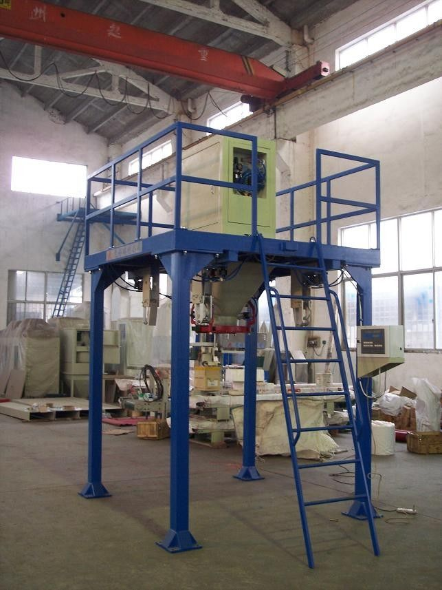 Bagging Cement Plants : Customized big bag filling machine block cement